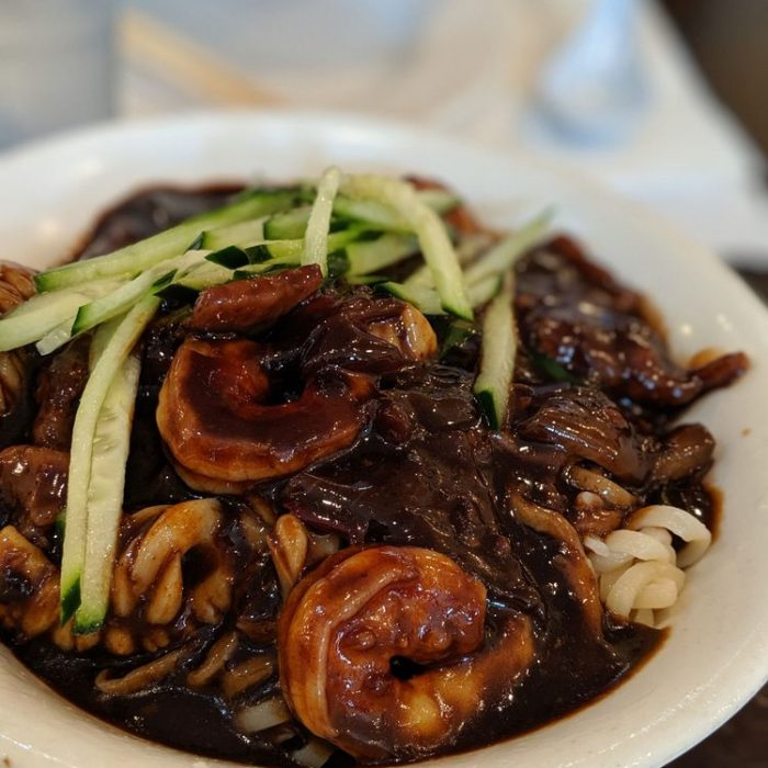 Black Bean Sauce Noodles