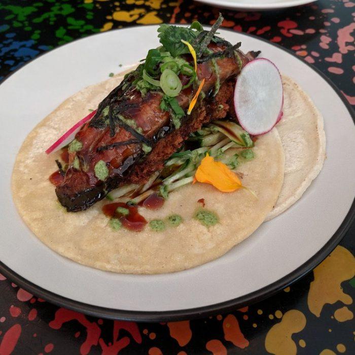 Eel Taco