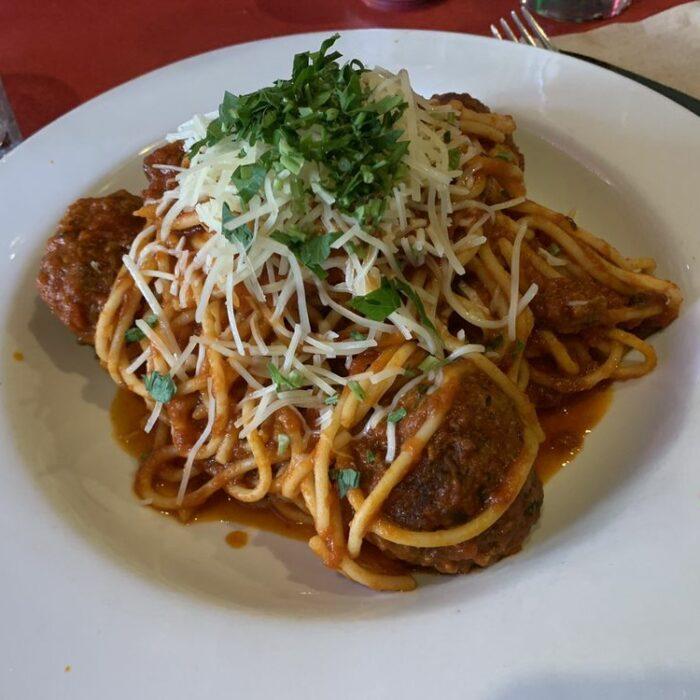Emmy's Spaghetti & Meatballs