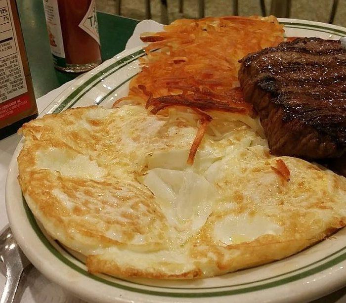 New York Steak and Egg