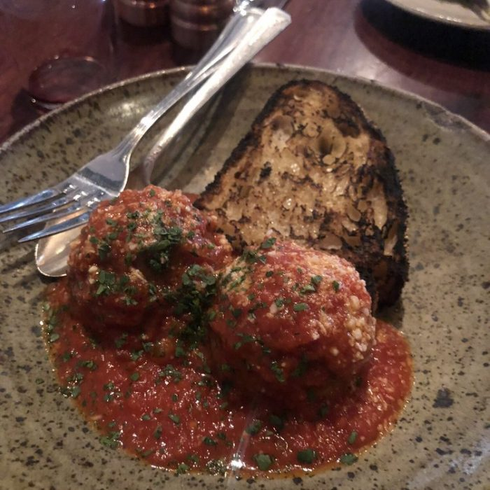 Tomato Braised Polpette
