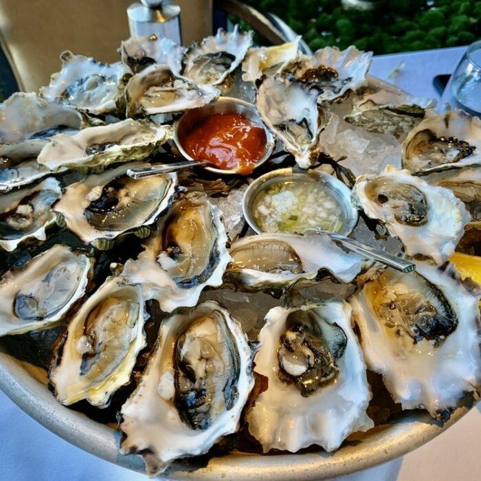 2 dozen oysters