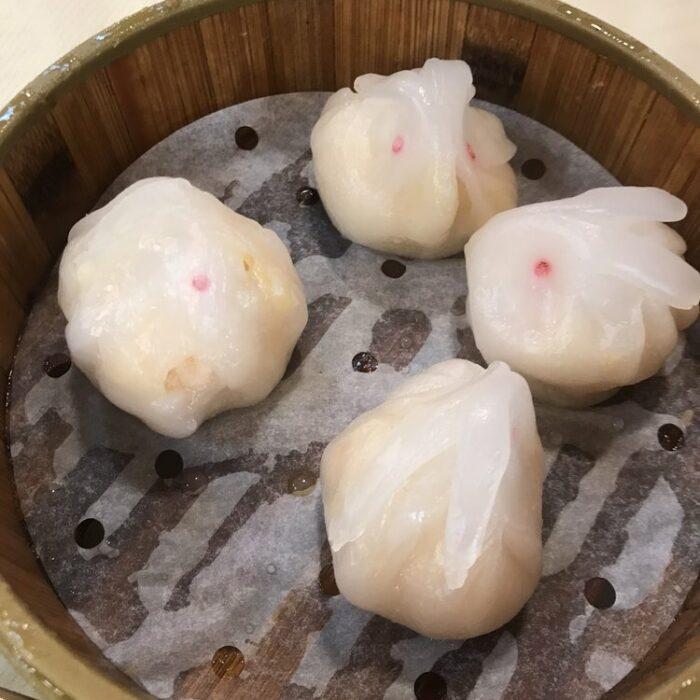 Bunny Shrimp Dumplings