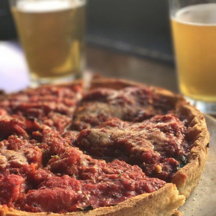 Little Star Deep Dish Pizza