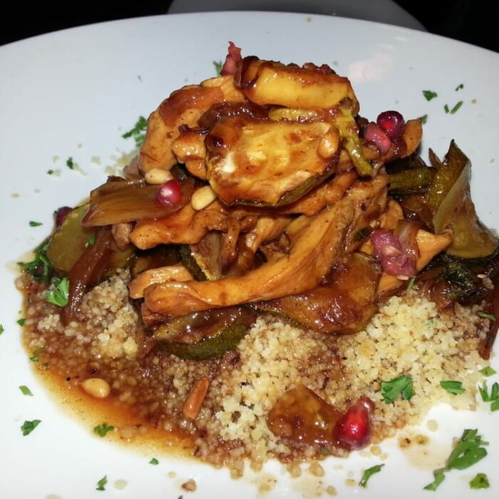 Slow-cooked Pomegranate Chicken