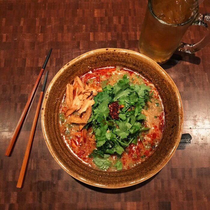 Tan-tan Spicy Miso Paitan
