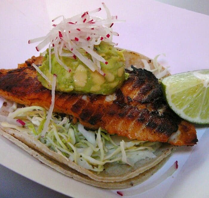 Grilled Fish Taco