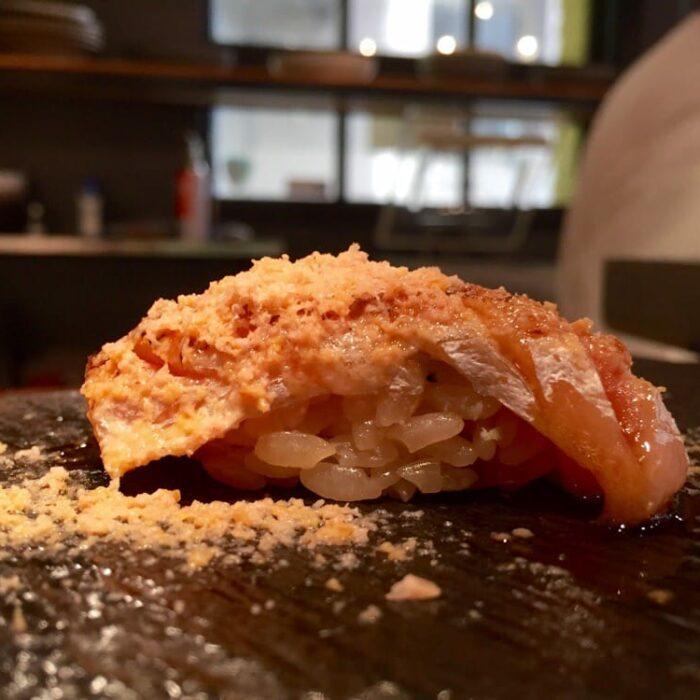 Hara Sake Seared Salmon Belly