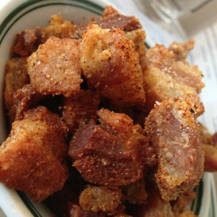 Pork Belly Cracklins