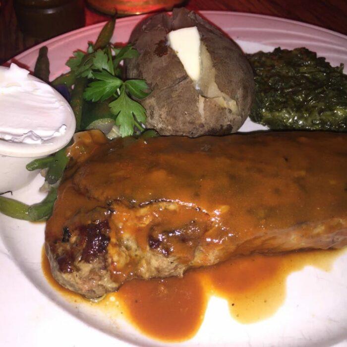 New York Strip Pepper Steak