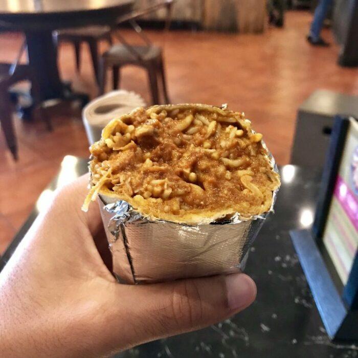 Tikka Masala Burrito
